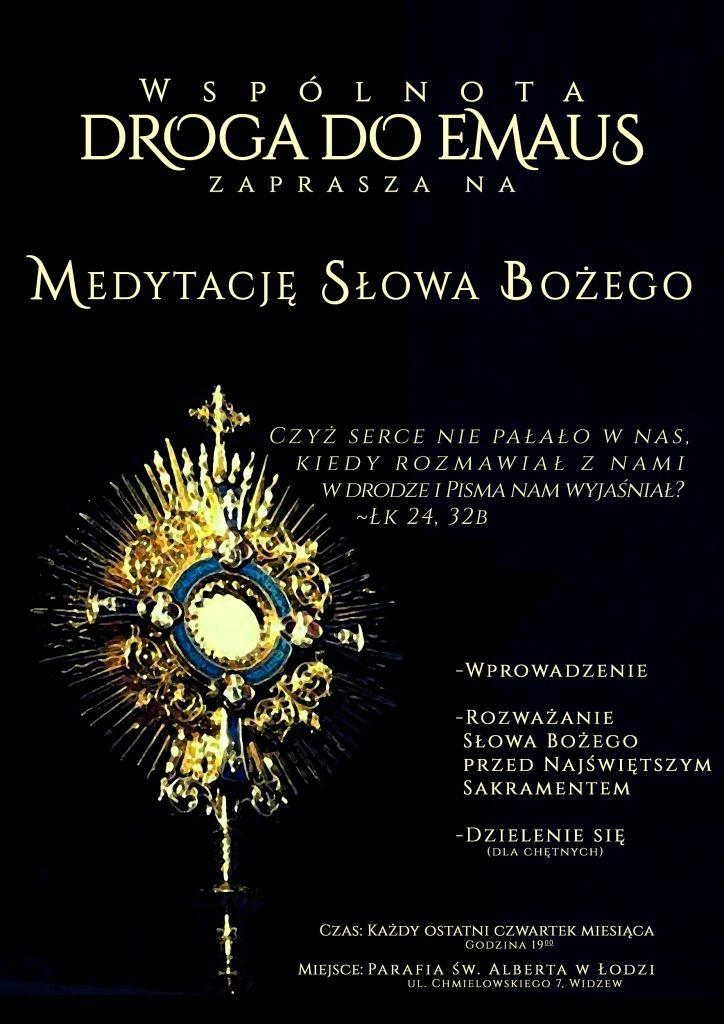 zaproszenie do lectio divina